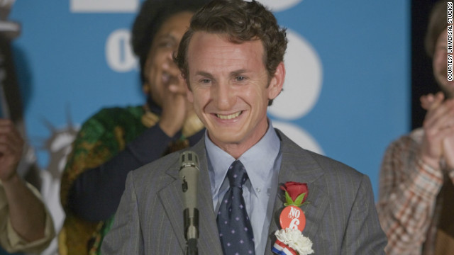 "Sean Penn won the Best Actor statue for his 2008 portrayal of the gay-rights hero in ""Milk."""