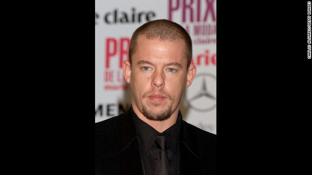 "British designer Alexander McQueen's technical skill as a tailor and boundless imagination at the helm of his own label made him one of his generation's most influential designers, despite earning the monicker ""enfant terrible"" and his penchant for controversy. Soon after his mother died in February 2010, McQueen took his own life. His former assistant, Sarah Burton, who was named head of McQueen's women's wear line in 2000, took over as creative director following his death. She went on to design Kate Middleton's royal wedding gown as well as sister Pipa's head-turning maid of honor dress."