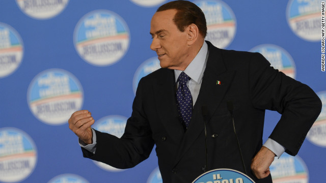Berlusconi's fury at Italian high court