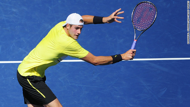 Following Roddick's retirement, John Isner is now the top-ranked American men's player. He reached a career-high ninth last year but has yet to go past the quarterfinals of a grand slam.
