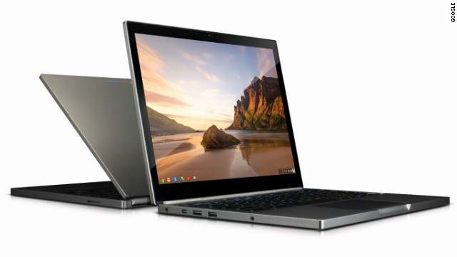 Google's new Chromebook Pixel has a very high-resolution screen, Intel Core i5 processor and and a touchscreen.