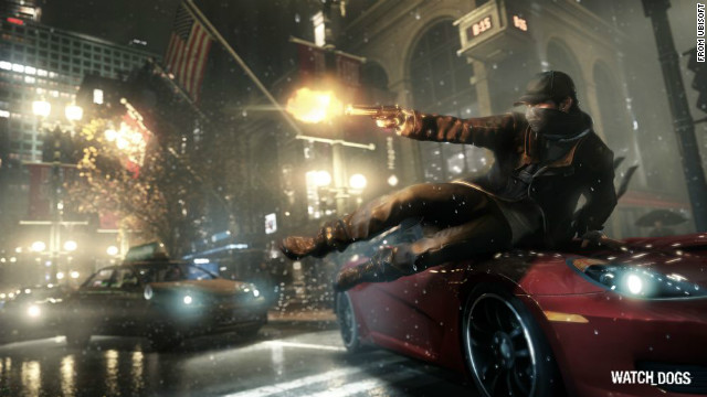 Set in an alternate version of Chicago, &quot;Watch_Dogs&quot; is an open-world adventure game whose main character hacks into computer systems to thwart crimes and kill evildoers.