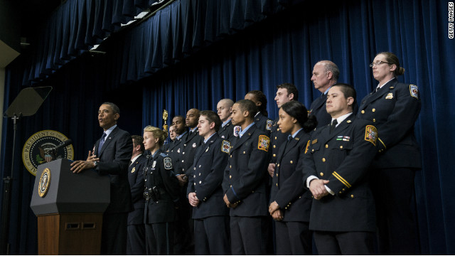 DC firefighters' appearance with Obama under review