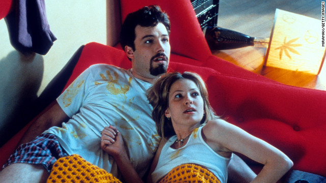 Affleck and Joey Lauren Adams starred in 1997's &quot;Chasing Amy.&quot;