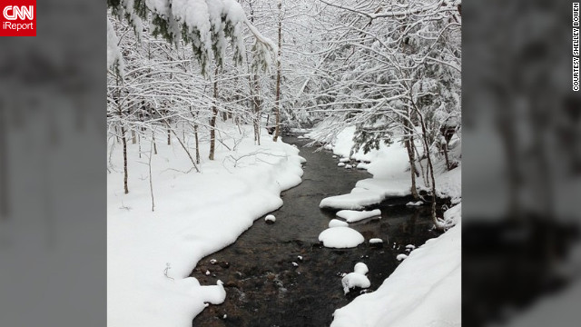 <a href='http://ireport.cnn.com/docs/DOC-932220' target='_blank'>Shelley Bowen</a> snapped this winter scene in Maine using Instagram without a filter.