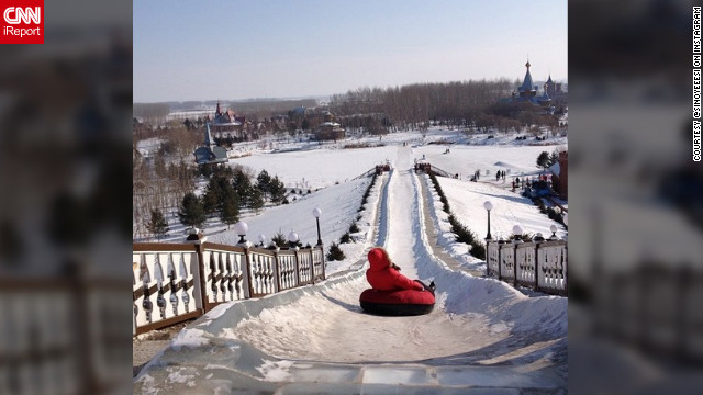 <a href='http://ireport.cnn.com/docs/DOC-932416' target='_blank'>Sin Yee</a> shares her photo of snow tubing fun on a nice winter's day.