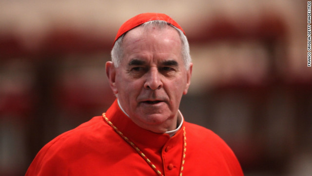 Pope accepts cardinal's resignation