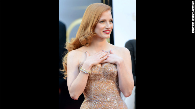 Jessica Chastain on Oscar: It's not my year
