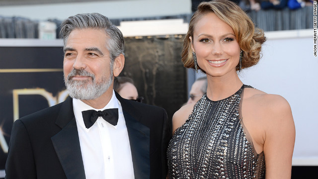George Clooney and Stacy Keibler were going strong -- and looking hot on the red carpet -- for two years. But in July 2013, their photogenic romance came to an end.
