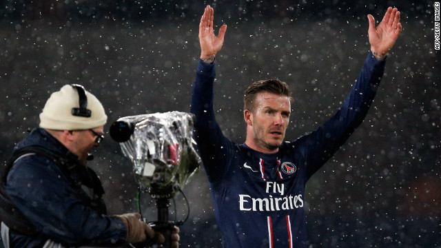 Contrasting fortunes for Beckham and Balotelli