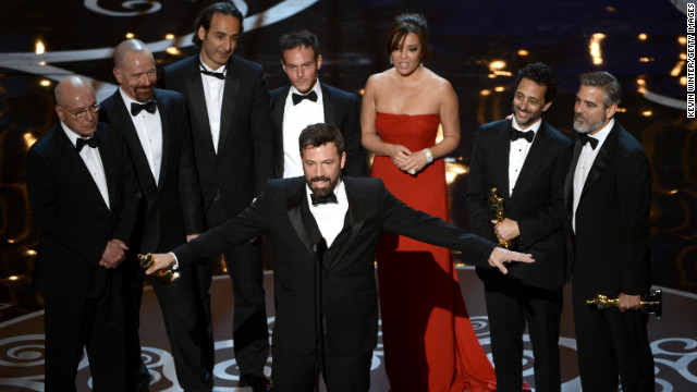 "Even though he wasn't nominated for a best director Oscar, it was comeback kid Ben Affleck's big night at the 85th Academy Awards. His film ""Argo"" took home top honors as the year's best picture. From child actor to Hollywood heavyweight, see Affleck's road to gold:"