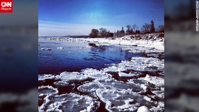 <a href='http://ireport.cnn.com/docs/DOC-932560' target='_blank'>Joanna Bailey</a> shot this photograph in Minnesota, as portions of Lake Superior began to thaw and break apart.