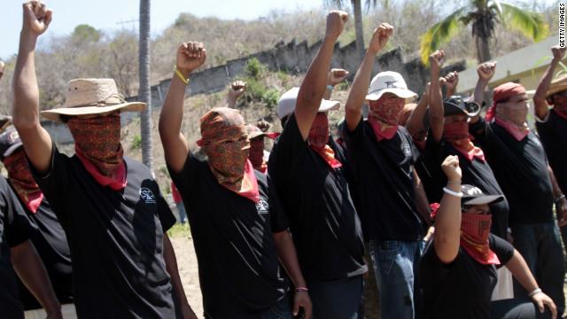 Detienen a 34 presuntos narcos que fingían ser autodefensas en México