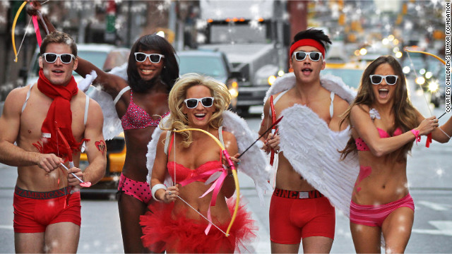 Not quite ready to go bareback? Cupid's Undie Run aims to raise money for <a href='http://cupidsundierun.com/13/' target='_blank'>The Children's Tumor Foundation</a> by having participants race about a mile in their underwear every Valentine's Day weekend.