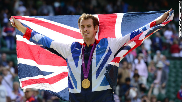 Hutchins is a doubles specialist but Murray has risen to No. 2 in the singles rankings. After losing out at Wimbledon to Roger Federer, he gained revenge by winning gold at the 2012 London Olympics.