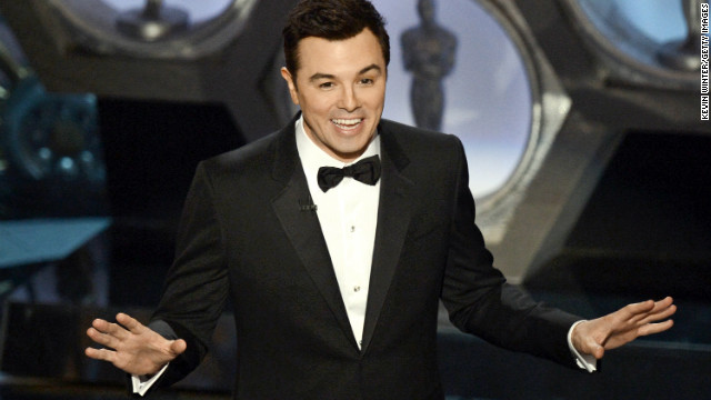 Oscar ratings rise with Seth MacFarlane as host