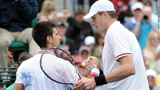 "Isner made his first grand slam quarterfinal at the U.S. Open in 2011 and relishes the big stage: ""I think that's one of the main reasons why I beat Federer, I beat Djokovic and I almost beat Rafa at the French Open of all places. That's why you play this game -- to get a crack at those guys. Try to take it to them."""
