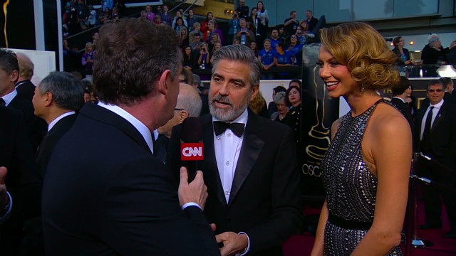 Piers Morgan patrols the red carpet at Sunday's 85th Academy Awards