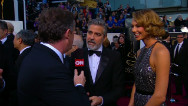 Piers Morgan on the red carpet at the Oscar's