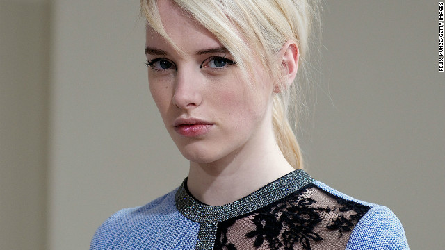 Tipped by international fashion insiders as the one to watch in 2013, Zhang's first collection -- stocked at London boutique Browns -- sold out within a month.