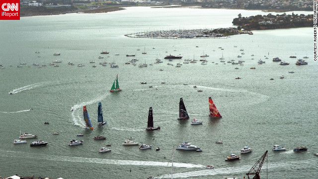 """Auckland is called 'City of Sails' because of the terribly disproportionate number of boats to people,"" says Roberto Victoriano, a design engineer in <a href='http://ireport.cnn.com/docs/DOC-797378'>Auckland, New Zealand</a>. Auckland is said to have more boats per capita than any other city in the world."