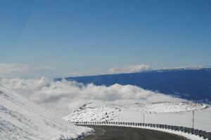 Nieve en Hawai