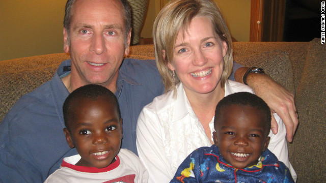 Tague and Lisa Harding were inspired to adopt Zach and Philip after learning the plight of Ugandan orphans at their church.