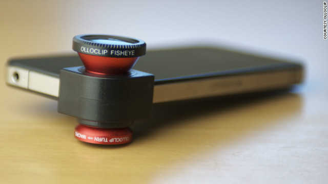 The Olloclip is the iPhone photographer's dream gadget: A quick-connect lens for the iPhone and iPod touch that includes fisheye, wide-angle and macro lenses in one.