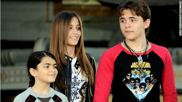 Prince Jackson, far right, attends a 2012 Michael Jackson Hand and Footprint ceremony in Los Angeles with his siblings. 