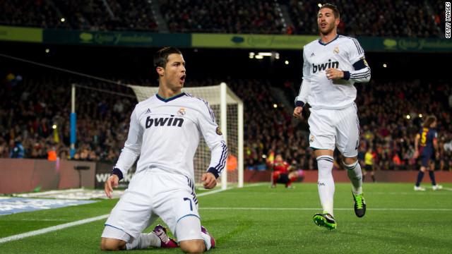 El Real Madrid golea al Barcelona y jugará la final de la Copa del Rey