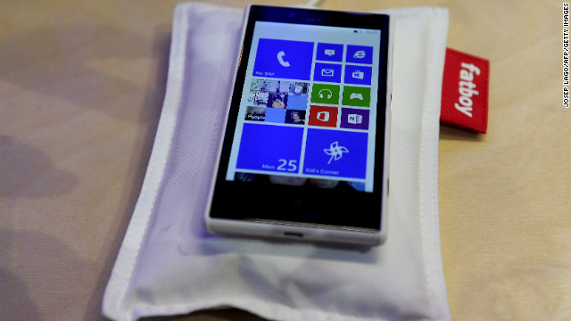 Nokia's wireless charging device is a pillow for your phone to rest on so that &quot;it will wake refreshed and recharged&quot;. It is co-branded with Fatboy designer furniture and comes in a range of colors.