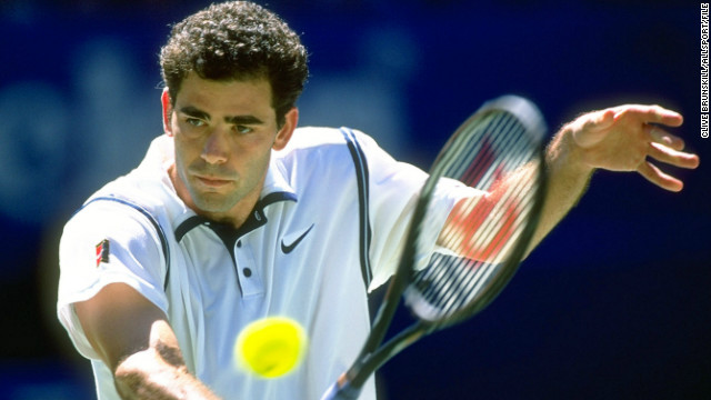 But it was Sampras who defined that golden generation of U.S. men's tennis as he won 12 of 21 grand slams captured by Americans in the 1990s.