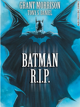 As part of writer Grant Morrison's years-long examination of the Dark Knight, Bruce Wayne went missing for a time in 2008 and was presumed dead. His first Robin, Dick Grayson, took on the role until Bruce returned after something of a vision quest through <a href='http://www.cnn.com/2010/SHOWBIZ/books/06/09/go.batman.anniversary/index.html'>time</a>.