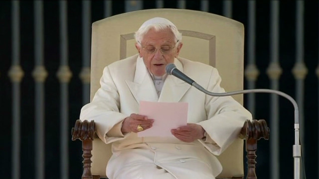 Need to Know News: Pope Benedict speaks in final papal audience; Spending cuts are about to get weird