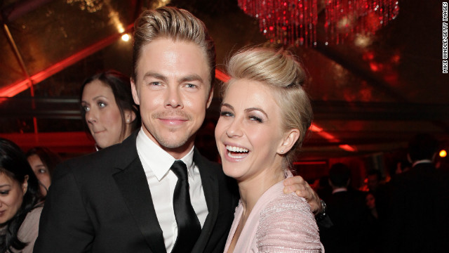 Derek and Julianne Hough will serve as executive-producers and head choreographers on Starz new series, 