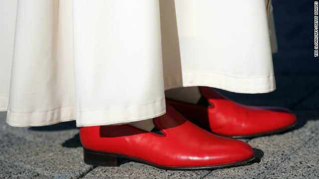 Meaning Of The Pope S Red Shoes