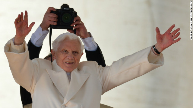 La ltima audiencia de Benedicto XVI