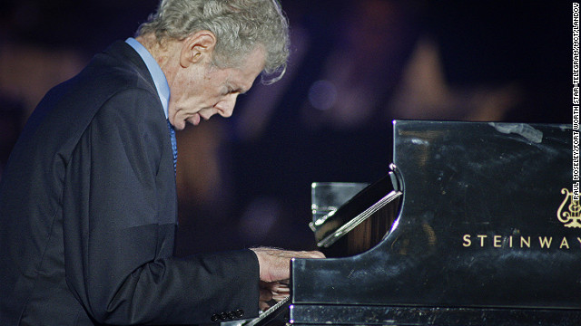 <a href='http://www.cnn.com/2013/02/27/showbiz/van-cliburn-obit/index.html'>Van Cliburn</a>, the legendary pianist honored with a New York ticker-tape parade for winning a major Moscow competition in 1958, died on February 27 after a battle with bone cancer, his publicist said. He was 78.