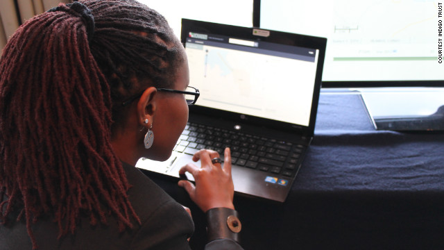 Juliana Rotich is executive director of Ushahidi. Developed after Kenya's last election, the Ushahidi crowdmap enabled citizens to report incidents of violence by SMS or email. 