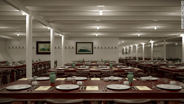 The Titanic II will include third-class dining.