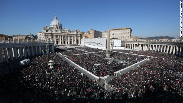 Benedict\'s final papal audience