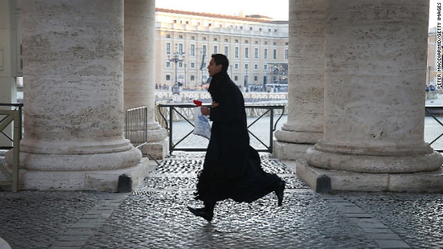 Celibacy for priests a hot issue, just not for church leaders