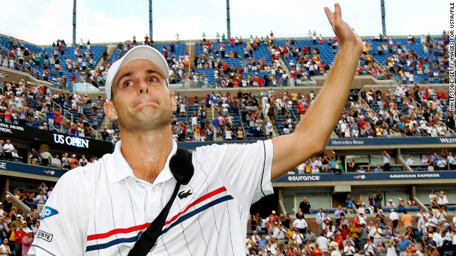 Nine years later Roddick walked off the court for the last time in New York, having failed to add to that major victory. American tennis is still waiting for another male grand slam winner.