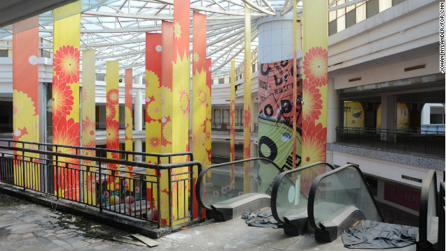 The optimistic owners of New South China Mall hope to boost occupancy to 80% in 2013.