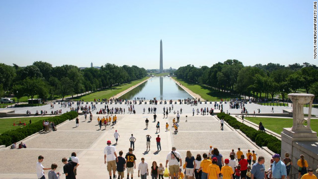 The National Mall, its monuments and memorials provide Washington with 17,000 trees. The nation's first urban park, Rock Creek Park, is also in D.C., which boasts more than 7,000 acres of parkland within its limits. The District's trees provide <a href='http://nrs.fs.fed.us/pubs/rb/nrs_rb001.pdf' target='_blank'>$3.6 billion in structural value </a>to the city, and save $2.6 million in energy costs each year.