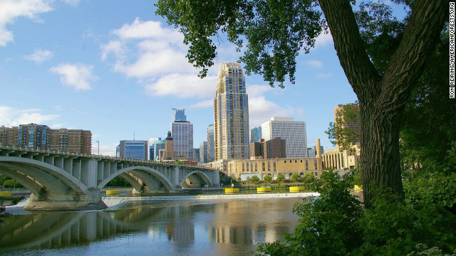 Minneapolis is one of the <a href='http://www.shape.com/fitness/top-10-fittest-cities-america' target='_blank'>fittest</a> and <a href='http://www.sierraclubgreenhome.com/green-news/the-cleanest-and-the-most-polluted-cities/' target='_blank'>cleanest</a> cities in the country and one of the most forested. Every six blocks, there's a park, offering residents the opportunity for off-road cycling, hiking, canoeing and swimming. The city was one of the first to use the U.S. Forest Service's<a href='http://www.itreetools.org/' target='_blank'> iTree assessment tool</a> to determine the benefits of its urban forest. As a result, Minneapolis can boast an urban forest with a <a href='http://www.minneapolisparks.org/default.asp?PageID=52&prid=1947' target='_blank'>structural value of $756 million</a>.