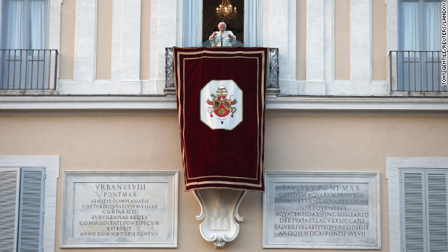 Photos: Pope Benedict XVI\'s last day
