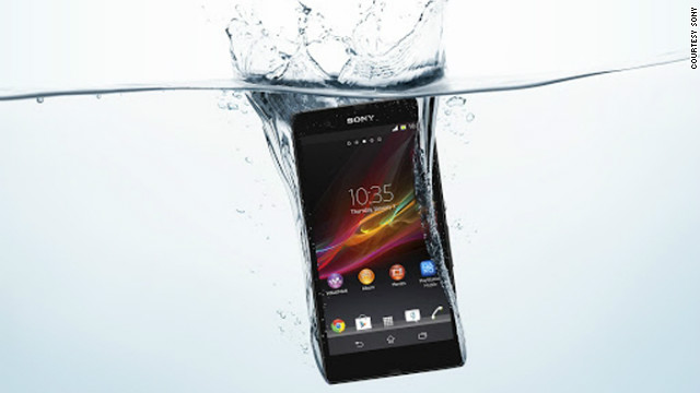 Sony's Xperia Z smartphone, pictured, and Xperia Tablet Z have received a lot of attention for being water-resistant. But Sony isn't the only manufacturer seeking to make electronics more durable. Here are some other options: