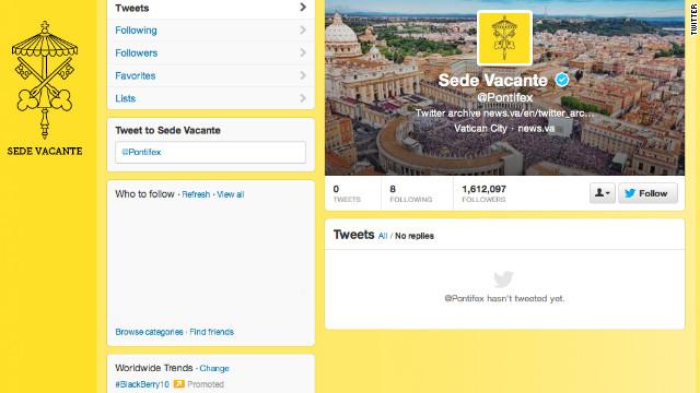 """Benedicto XVI agradece el """"amor"""" de los fieles católicos en su último tuit"""