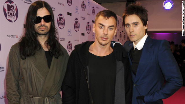 Thirty Seconds To Mars to send music into space